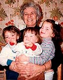 Grandmother with multiples