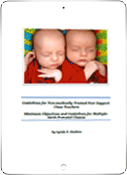 Order The Essential Kit for Multiple Birth Support Chapters, Community and Health Care Centres